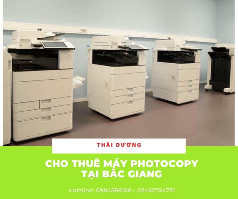 cho thuê máy photocopy tại bắc giang