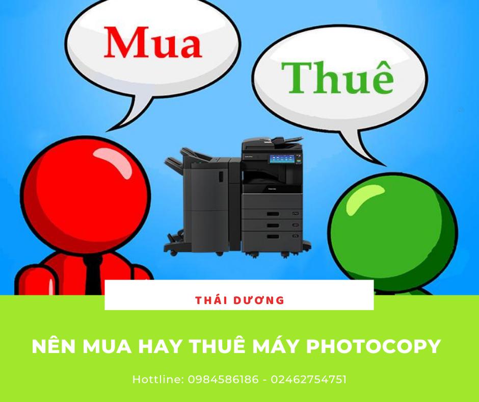 nên mua hay thuê máy photocopy