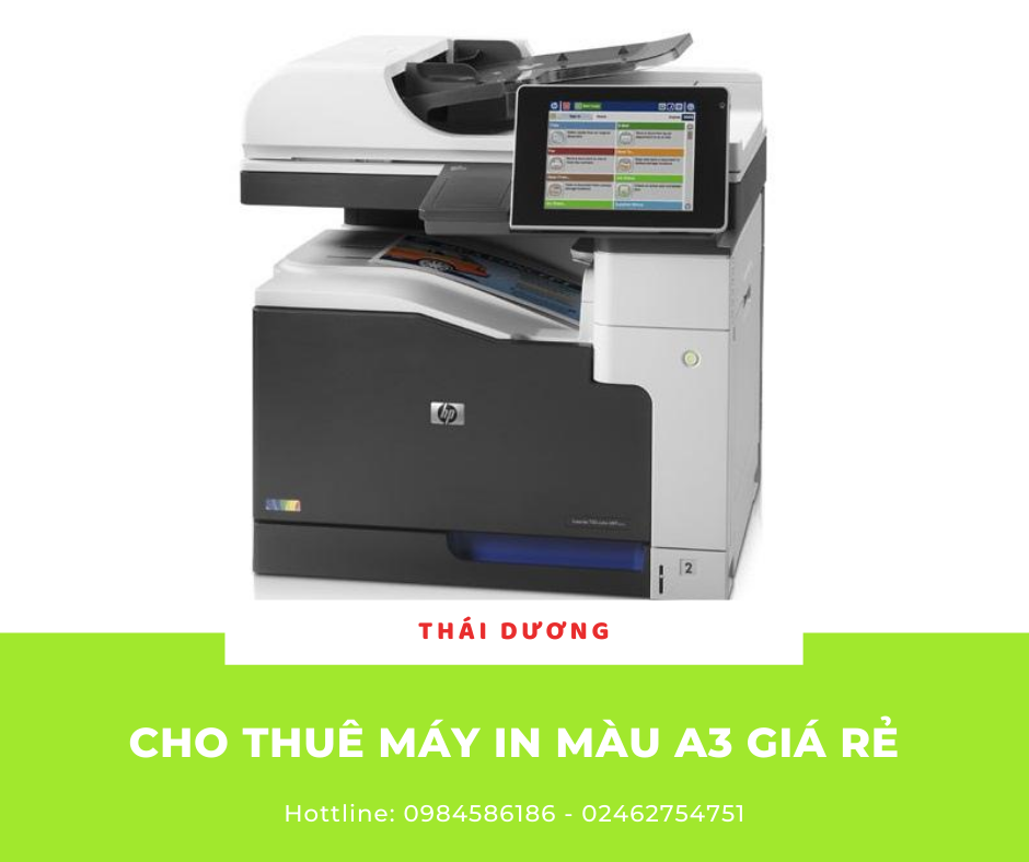 cho thue may in mau a3